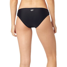 Fox Bolt Lace Up Bikini Bottom Women black
